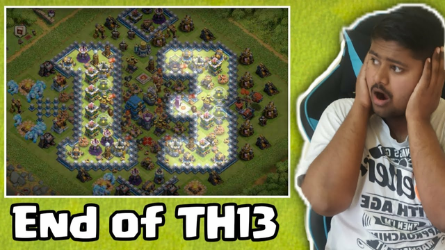 THE END OF TH13.................. CLASH OF CLANS COC
