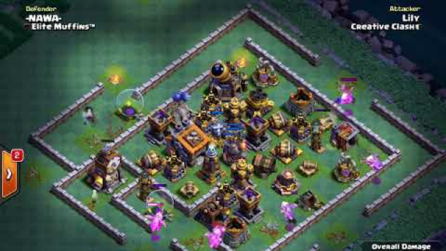 BH9 - Attack Strategy - 3x Dragons, 2x Minions, Carts - Clash of Clans - Builder Base