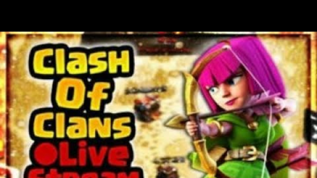 clash of clans // base visit// Live attack// live stream