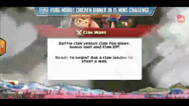 Live stream Clash of Clans War Day