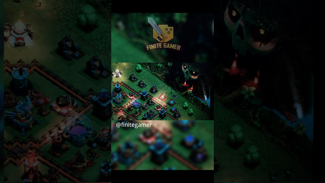 The Night Village should look like this in clash of clans  #coc #clashofclans #clashtak