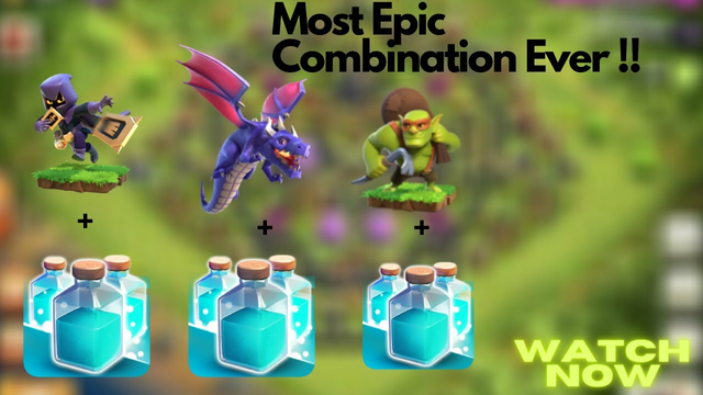 Most Epic Combination Ever !!! / Clash Of Clans / Clash World
