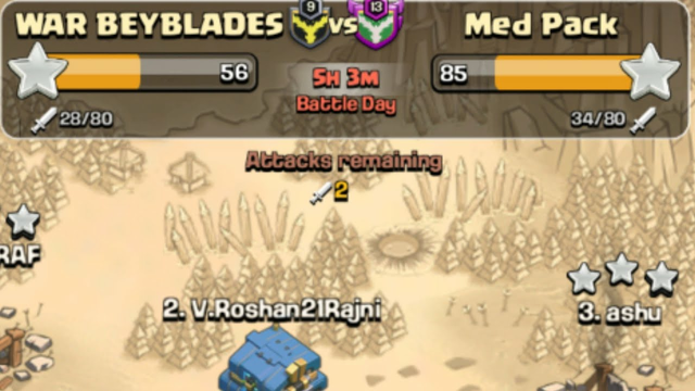 Clan war live | Clash of Clans  live in Tamil | Clasher Roshan |
