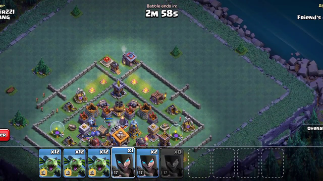 Clash Of Clans (2nd Base Attack)