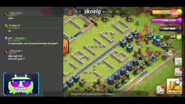 Clash of clans rush th7