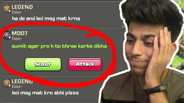 EVERYBODY IS TROLLING............... Clash of Clans - COC