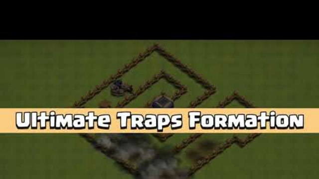 Ultimate TRAPS Formation - Traps Vs All Troops - Clash of Clans