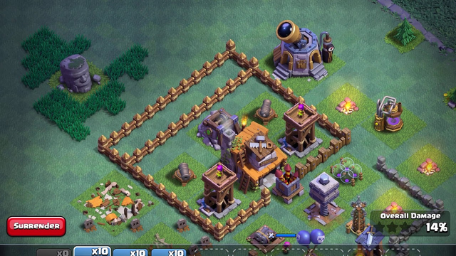 Clash of clans versus battle ep 2 + upgrading guard post