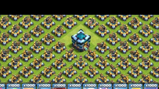 Clash Of Clans Unlimited Troops Attack   Most Satisfying Attack On Clash Of Clans