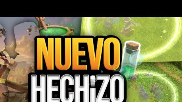 NUEVO HECHIZO INVISIBLE!!!!    SNEAK PEEK CLASH OF CLANS *ACTUALIZACION DICIEMBRE*