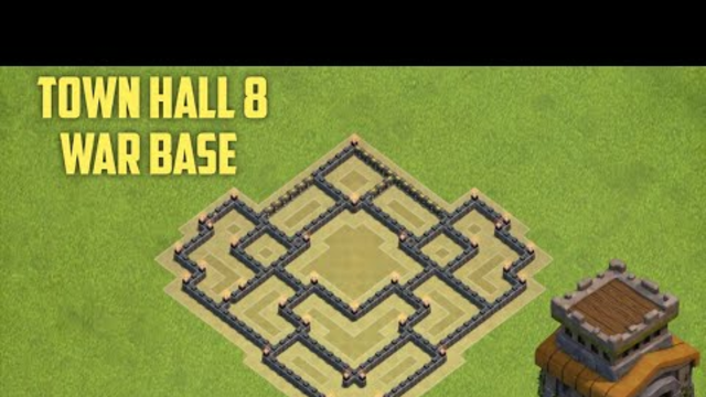 Best New TH 8 Base | Town Hall 8 War Base | Clash of Clans