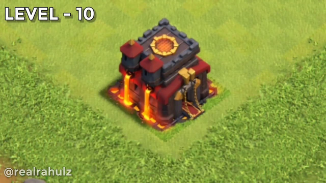 Clash Of Clans Town Hall 1 To 13 Upgrade | coc | Clash Of Clans Town Hall Upgrade