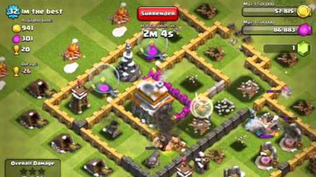 Clash of clans: Trophy hunt 6!