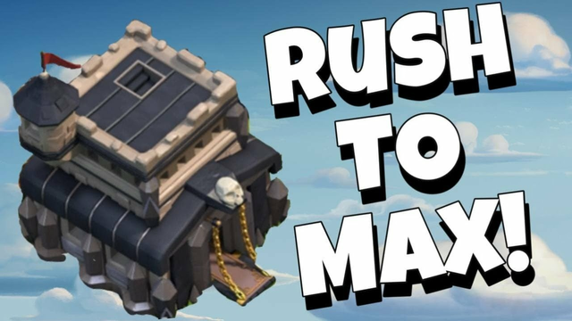 CLASH OF CLANS -COC LIVE TH 9 RUSH TO MAX! !3 Gold Pass Giveaway
