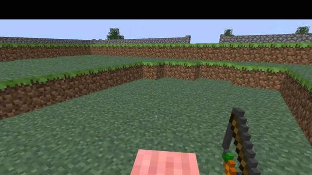 Minute Minecraft #007 Monter & chevaucher un cochon en 1.4 - HD