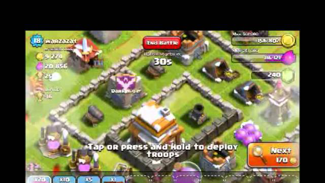 [2-2] Part 1/3 -  Let's Play Clash of Clans - Going for Gold (Gameplay Commentary)