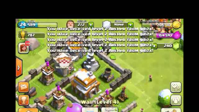 [2-2] Part 2/3 Let's Play Clash of Clans - Base Design (TH5) Spiral Base (Gameplay Commentary)