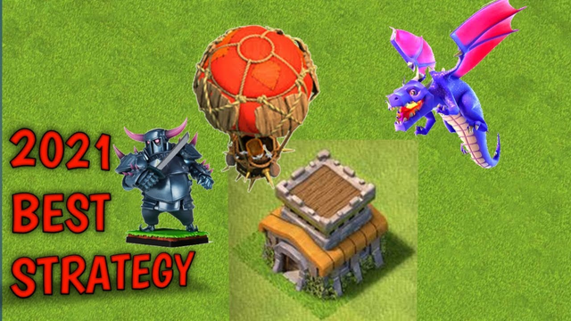 TH8 2021 BEST ATTACK STRATEGY|| CLASH OF CLANS- KNIGHT KING||