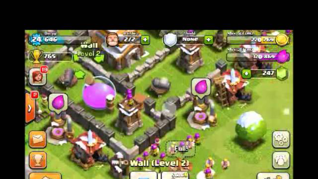 [2-2] Part 3/3 Let's Play Clash of Clans - Santa Bombing Run Inbound! (Gameplay Commentary)
