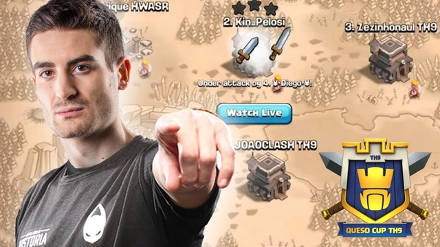 PRO PLAYERS USE BEST TH9 ATTACK STRATEGY IN CLASH OF CLANS | TH9 QUESO CUP GRAND FINALS