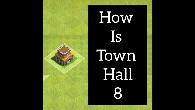 clash of clans || how to start town hall 8