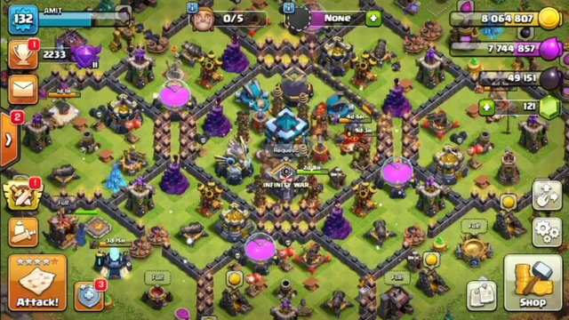 test stream | playing clash of clans
