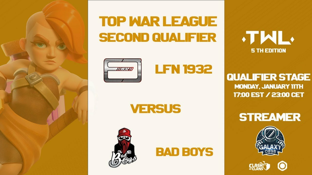 LFN 1932 vs BAD BOYS | TOP WAR LEAGUE 5 | CLASH OF CLANS