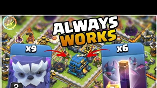 SIMPLE Army ... Th12 Yeti Bat Attack Strategy ! Best War Th12 Attack Strategy 2020 Clash Of Clans
