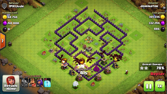 Clash of clans 3star