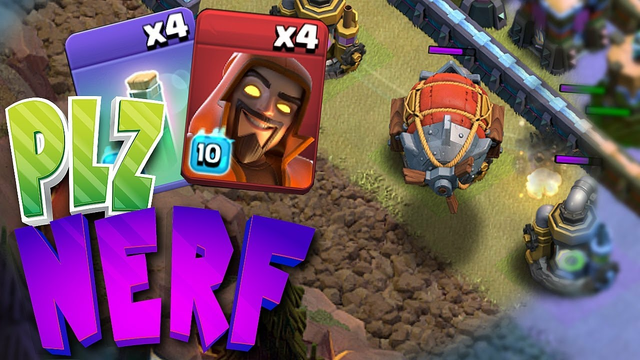 "Super Wiz is Officially broken...""Clash Of Clans"" Too much value"