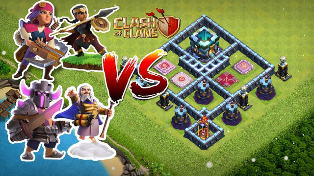 AMAZING BASE VS ALL HERO'S | CLASH OF CLANS | MUST WATCH |
