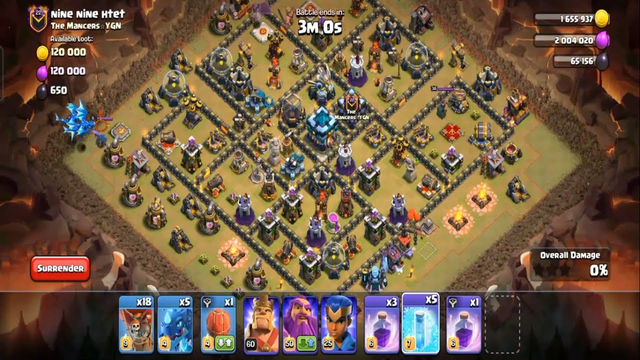 Clash Of Clans Best War Attack Strategy Ep 09