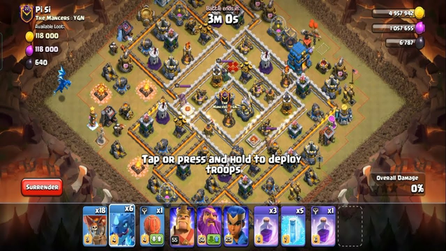 Clash Of Clans Best War Attack Strategy Ep 07