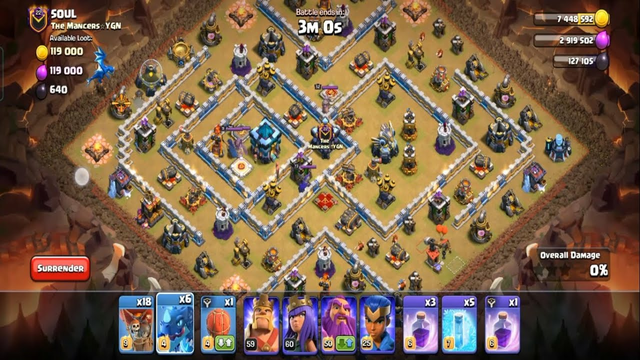 Clash Of Clans Best War Attack Strategy Ep 08