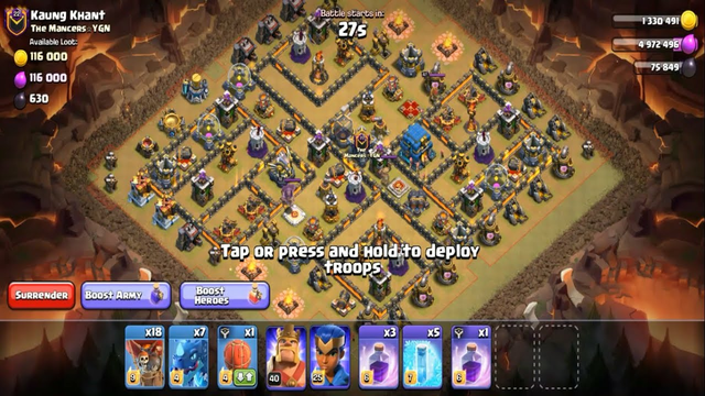 Clash Of Clans Best War Attack Strategy Ep 06