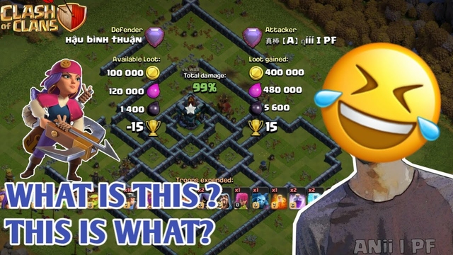 WHAT is THIS ? THIS is WHAT? - Legend League Challenge | Clash of Clans