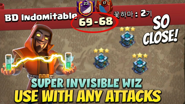 TH13 BEAST RAIDS COMBO (Invisible S - Wiz), Most Dominating War Attacks Highlights - Clash Of Clans
