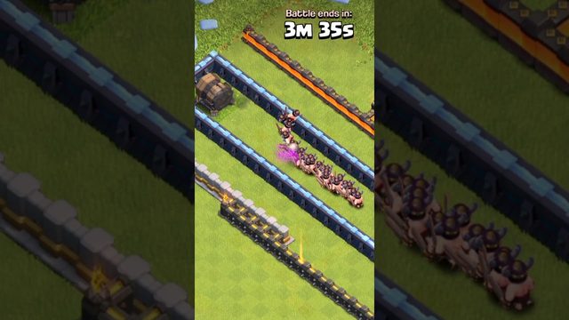Giant Cannon vs Troops - Clash of Clans