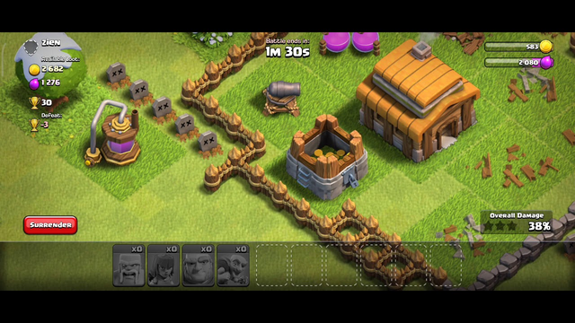 Townhall 2 Almost completed | Clash of Clans |