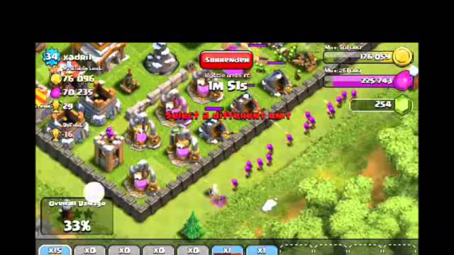 [2-3] Let's Play Clash of Clans - Kicking Ass & Starting Upgrades (Gameplay Commentary)