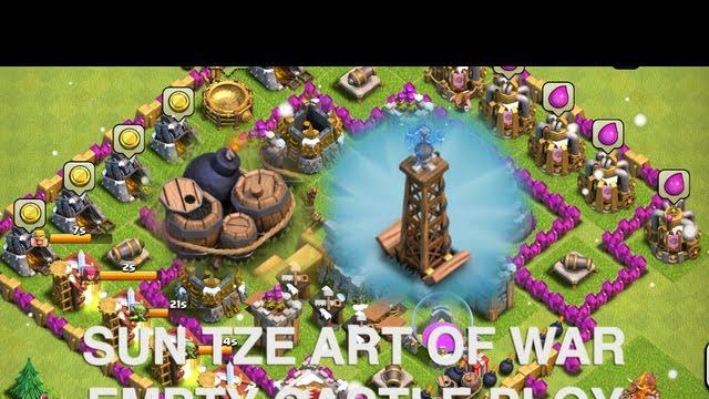 Clash of Clans - Part 10 - Sun Tze Art of War