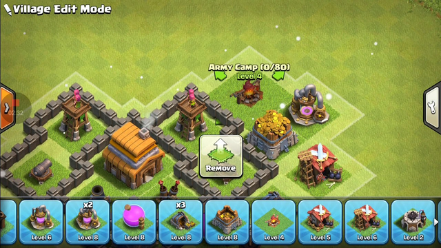 NWE BEST Town Hall 4 (TH4)Base with - CLASH OF CLANS