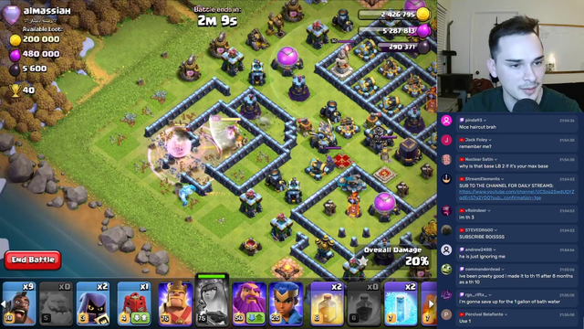 LIVE - CWL - Legends League Attacks - TH7 PUSHING - Clash of Clans LIVE