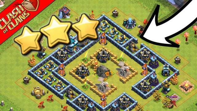 How To Three Star Hog Mountain Challenge ! New Update, New Scenery...........Clash of Clans...Coc..