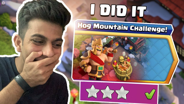 Supercell Gave us Impossible Challenge | Hog Mountain Challenge Clash of Clans - COC