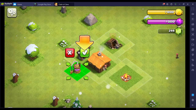 Clash Of Clans Th2 Any% 1:00.467 (PB).