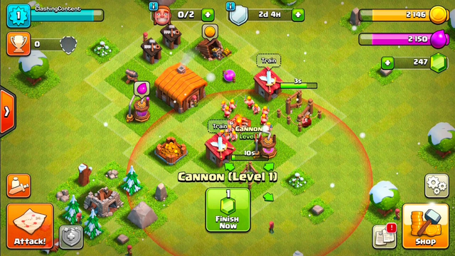 Clash of clans new builds th1