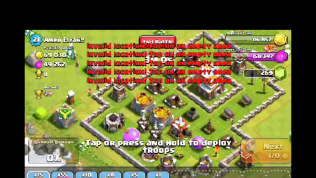 [2-5] Let's Play Clash of Clans - A few quick attacks (Gameplay Commentary)