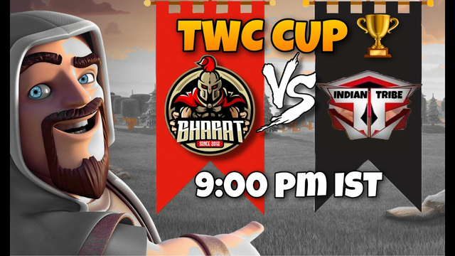 TWC CUP QUARTER FINALS | Bharat vs Indian Tribe | #clashofclans #coc #cocattacks