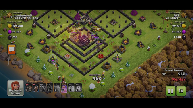 ANOTHER HOPEGO ATTACK | CLASH OF CLANS | TOWN HALL 10